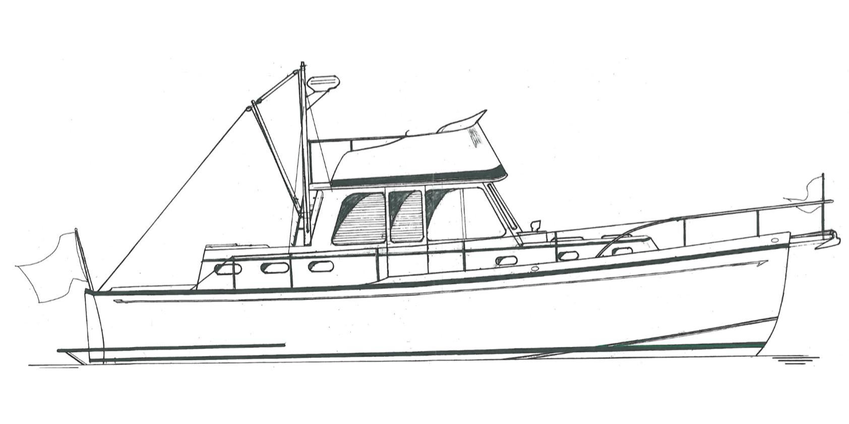 Padebco 32' Trawler