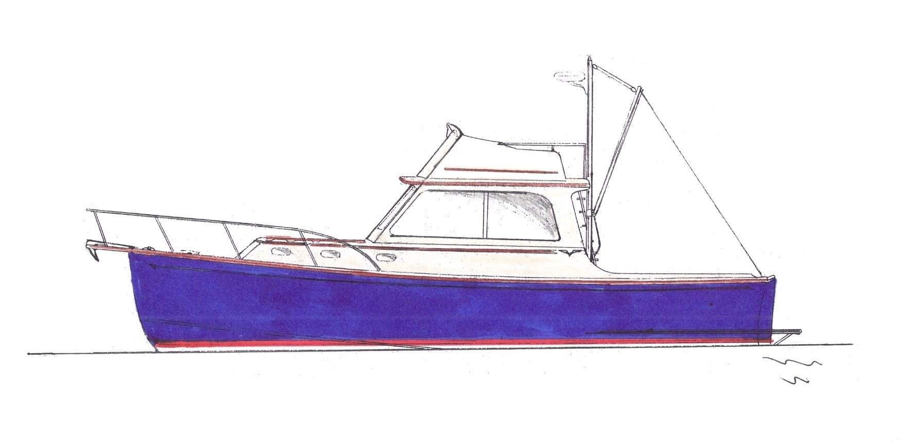 Padebco 32' Flybridge