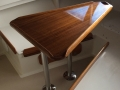Padebco's Teak V-Berth Table